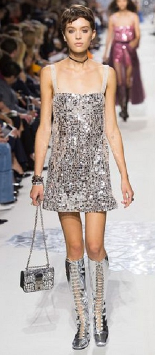 Abiti Eleganti 2018 Primavera Estate.01 Abiti Da Sera Paillettes Primavera Estate 2018 Dior Sergei